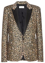 Saint Laurent Jacquard blazer