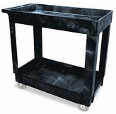 Rubbermaid Utility 2-Shelf Cart