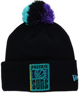 New Era Phoenix Suns Aqua Hook Knit Hat