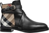 Burberry Vaughan boot with check