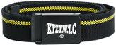 Kokon To Zai woven logo plaque belt