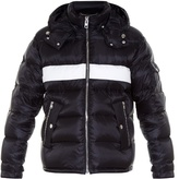 Givenchy Striped Detachable-hood Quilted Jacket