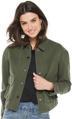 Rock & Republic Women's Cropped Utility Jacket