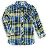 Petit Lem Kid's Plaid Shirt