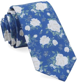 Tie Bar Hodgkiss Flowers Royal Blue Tie