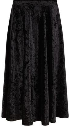 Nougat Brisbane Velvet Skirt