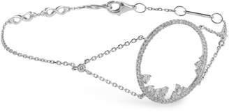 Djula White Gold and Diamond Fairy Tale Bracelet