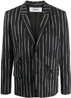 Chalayan Striped Rope-Embellished Blazer
