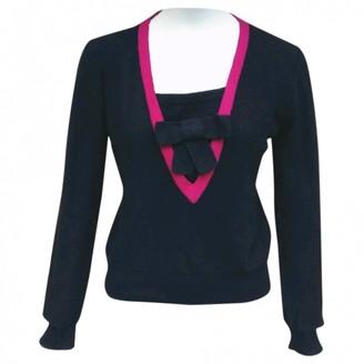 Sonia Rykiel Black Wool Knitwear for Women Vintage