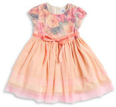 Us Angels Girls 2-6x Mesh Layered Dress