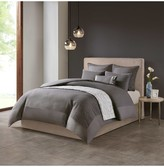 Natori Hanae Gray Duvet Cover Set