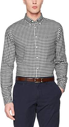Tommy Hilfiger Men's Classic Gingham Rf2 Casual Shirt, Blue (Maritime/Bright White 910), Large