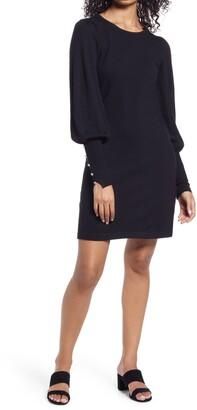 Lilly Pulitzer Bambrey Long Sleeve Merino Wool Sweater Dress