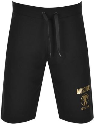 Moschino Logo Shorts Black