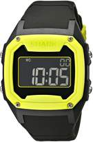 Freestyle Men's 101993 Shark Oversize Case Digital Retro Digital Black Watch