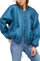 Free People Women's Easy Quilted Bomber Jacket