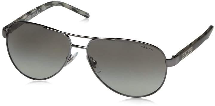 Ralph Lauren Ralph RA4004 Sunglasses-103/11 /Gray Horn (Gray Gradient Lens)-59mm