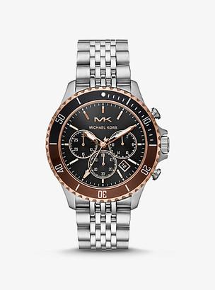 Michael Kors Bayville Silver-Tone Watch