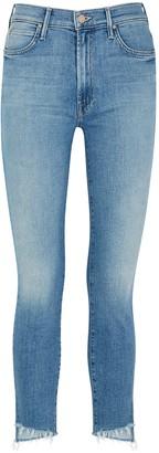 Mother Stunner Blue Skinny Jeans