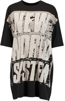 Marc by Marc Jacobs New World System oversized printed cotton-jersey T-shirt