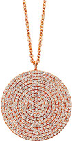 Astley Clarke Large Icon 14ct Rose Gold Pendant