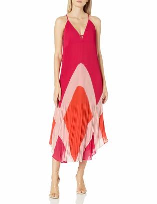 Ramy Brook Women's Jasmin Color Block MIDI Dress