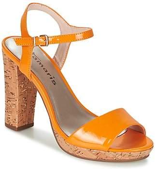 Tamaris BEBE women's Sandals in Orange