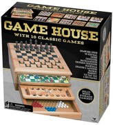 Cardinal 10 Game House Wood Games