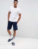 Polo Ralph Lauren Lounge Jogger Shorts Slim Fit Drawstring In Navy