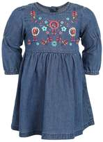 Benetton DRESS BABY Denim dress blue