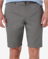Perry Ellis Men's Slim-Fit Flat-Front Twill Shorts