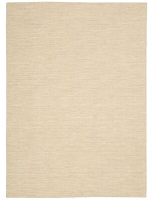 Calvin Klein Plateau Hand-Knotted Fossil Travertine Area Rug Rug Size: Rectangle 4' x 6'