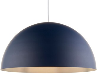 John Lewis & Partners Large Dome Metal Easy-to-Fit Ceiling Shade