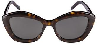 Saint Laurent New Wave 54MM Cat Eye Silhouette