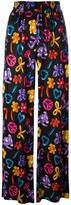 Love Moschino multiple prints straight trousers - women - Viscose - 38