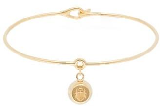 Aurelie Bidermann Fine Jewellery - Grelot 18kt Gold Bracelet - Womens - Gold