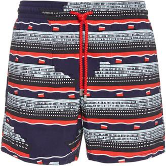 Vilebrequin VBQ Cruise Lines Printed Swim Shorts
