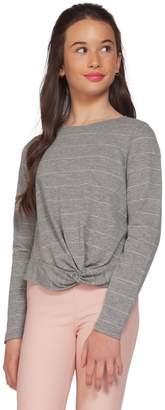 Dex Girl's Striped Cotton-Blend Top