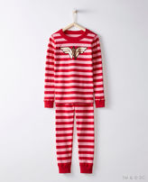 Hanna Andersson Justice League WONDER WOMANTM Long John Pajamas In Organic Cotton