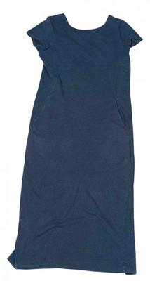 Toast Navy Cotton Dresses