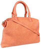 Culture Phit Wren Oversized Weaved Bag (Peach) - Bags and Luggage