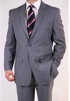 Ferrecci Men's Grey Two-button Peak Lapel Suit