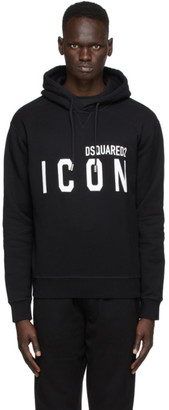 DSQUARED2 Black Icon Hoodie