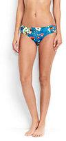 Classic Women's Mid Waist Bikini Bottoms-Coral Bliss Atlantis Geo