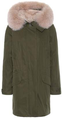 Yves Salomon Exclusive to Mytheresa Army fur-trimmed parka