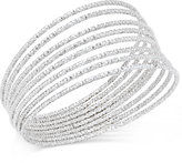 INC International Concepts Silver-Tone 8-Pc. Textured Bangle Bracelet Set, Only at Macy's