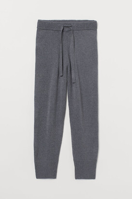 H&M Knit Joggers - Gray