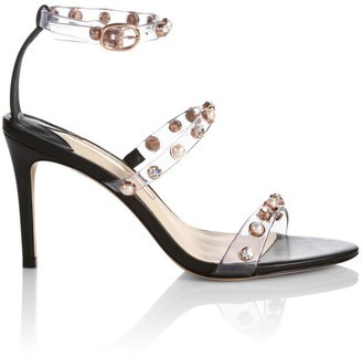 Sophia Webster Rosalind Embellished Vinyl & Leather Sandals