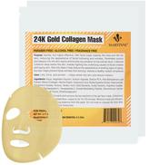 24K Gold Collagen Facial Mask (2 PK)