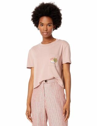 Volcom Women's Made from Stoke Boxy Short Sleeve Pocket Tee